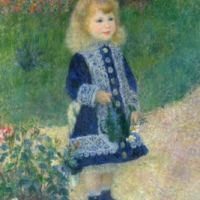 A Girl With A Watering Can - Renoir