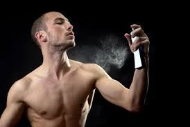 Man Wearing Cologne