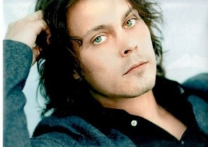 Ville Valo from HIM. Likes eyeliner.