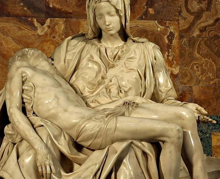 Pieta, Michelangelo Buonarroti